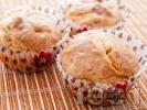 Рецепта Солени мъфини с топено сирене и слънчогледови семки
